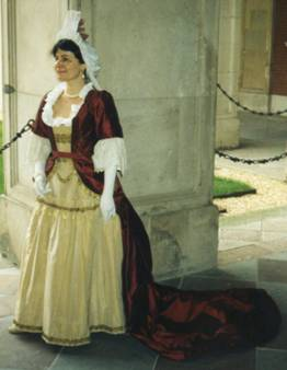Mantua Gown - Front View