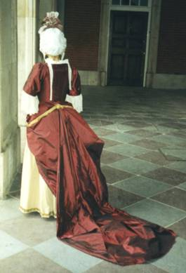 Mantua Gown - Back View