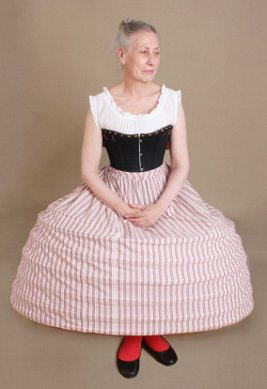 Crinoline - Sitting Correctly